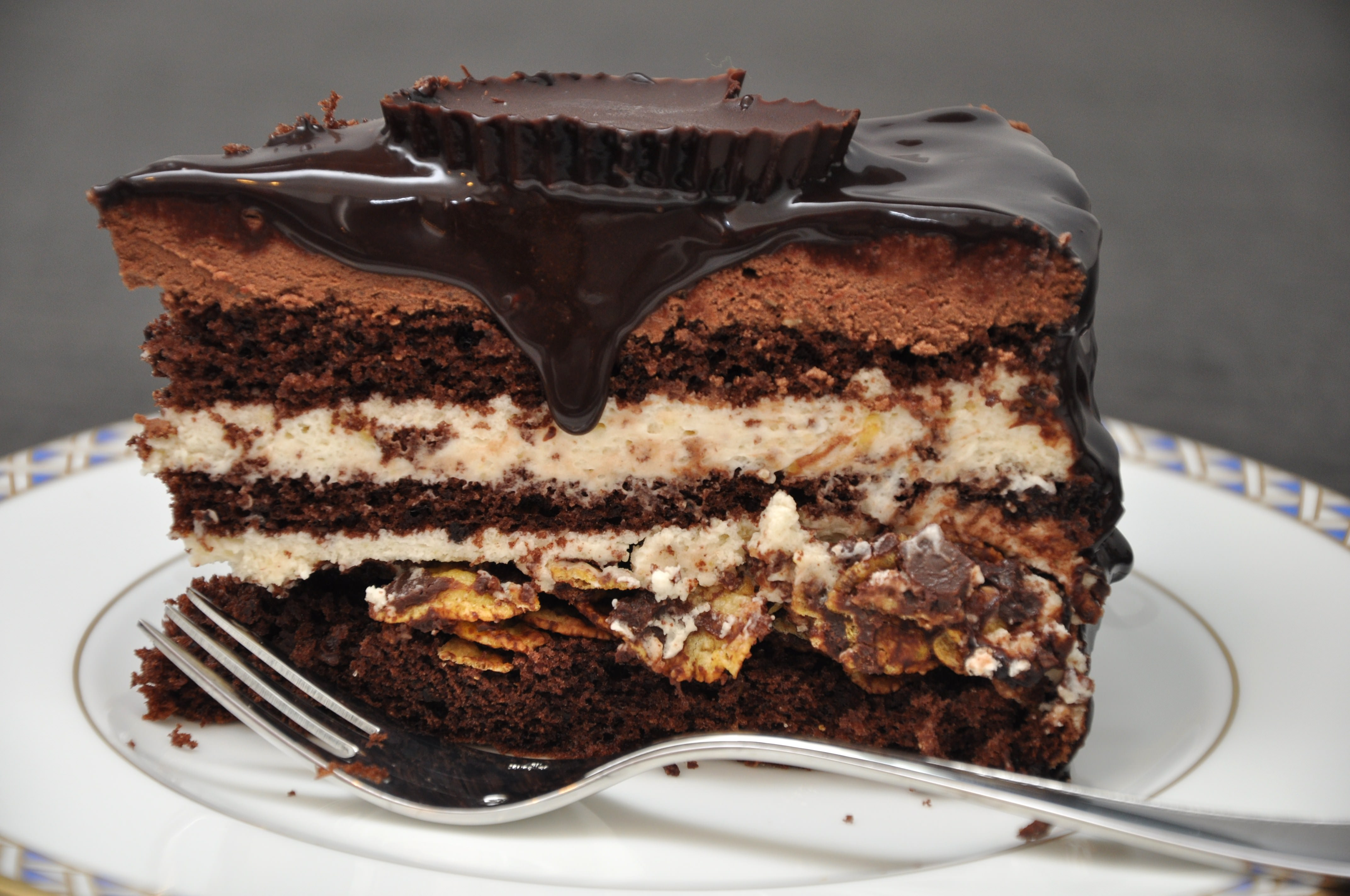 La fetta della torta sette veli
