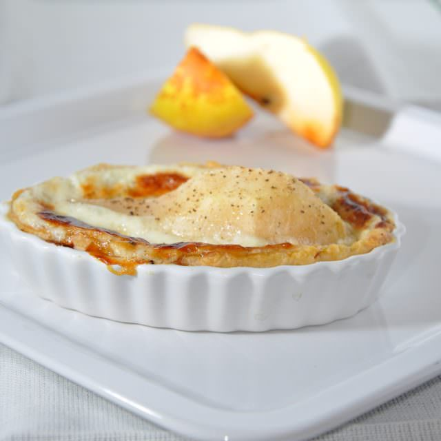 crostatine pere e gorgonzola