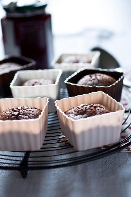 Tortine cioccolato e lampone