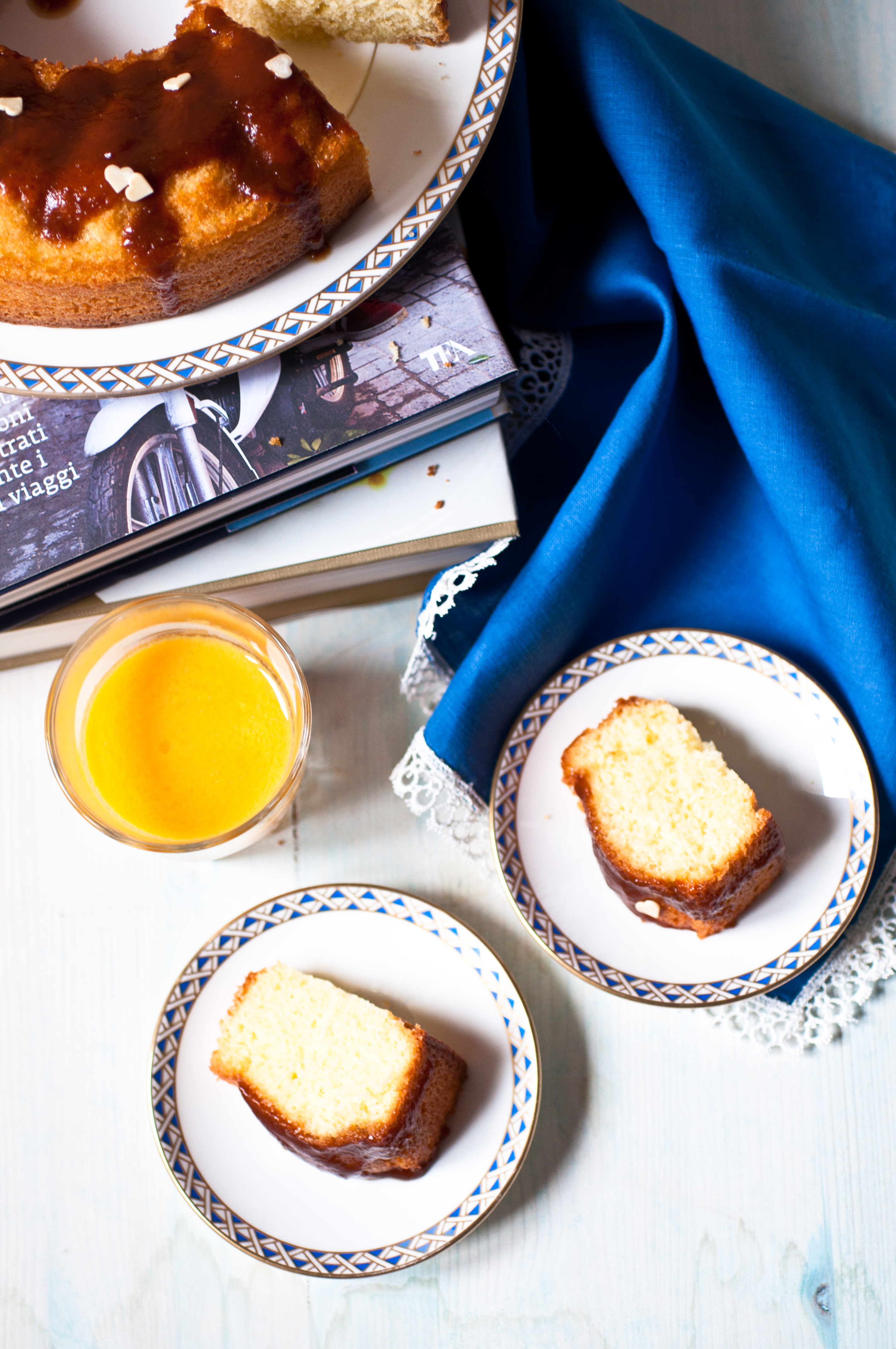 Torta soffice all'olio extravergine e limone