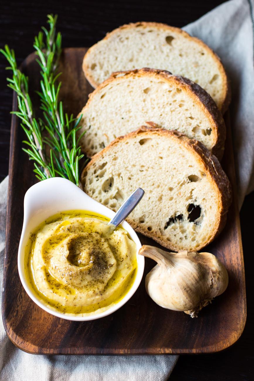 Crema di aglio arrostito