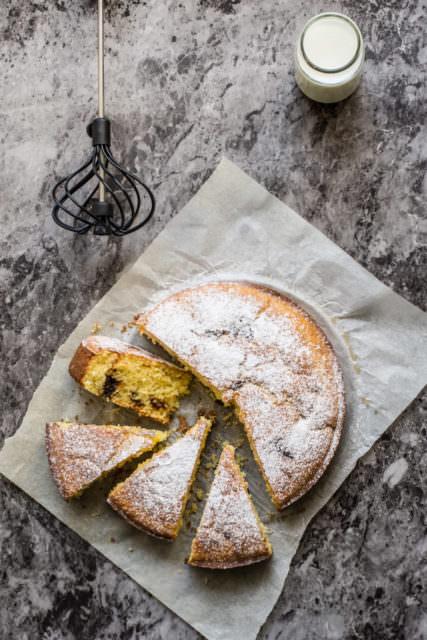 Torta soffice con marmellata