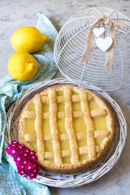 Crostata alla crema di limoni alla calabrese