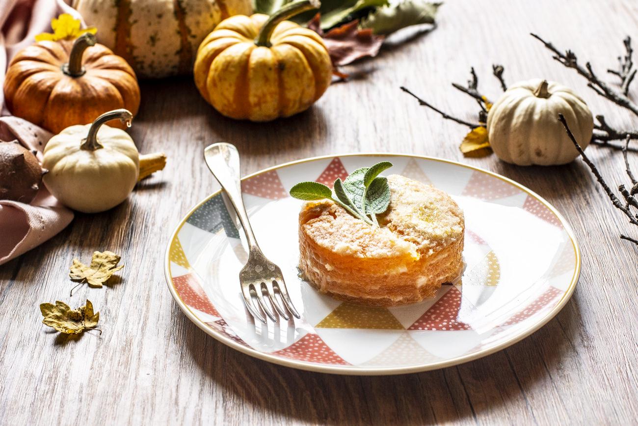 Parmigiana di zucca - ricetta