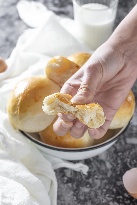 Panini al latte soffici - ricetta