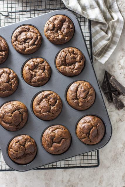 Muffin alla zucca e cioccolato1