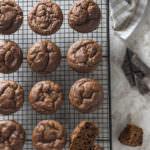 Muffin alla zucca e cioccolato2
