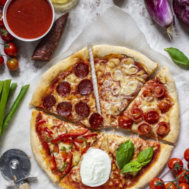 Pizza con lievito istantaneo
