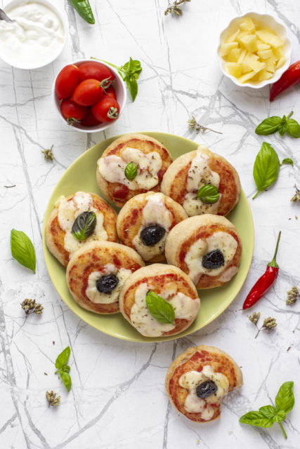 Pizzette yogurt