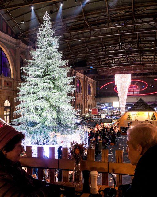 Mercatino di Natale Stazione Zurigo