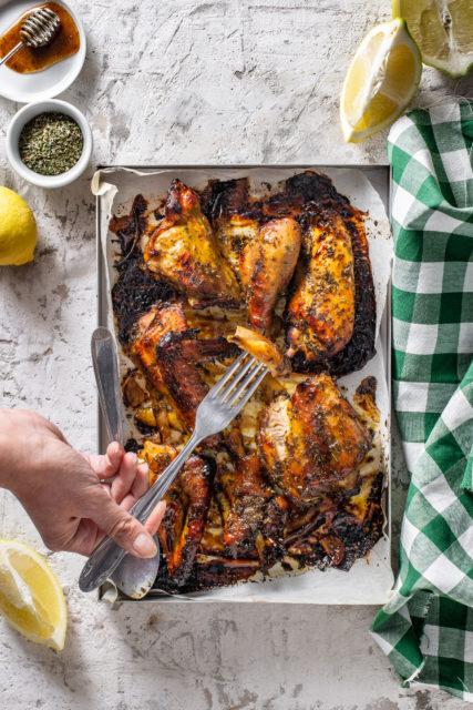 Pollo al limone e miele 1
