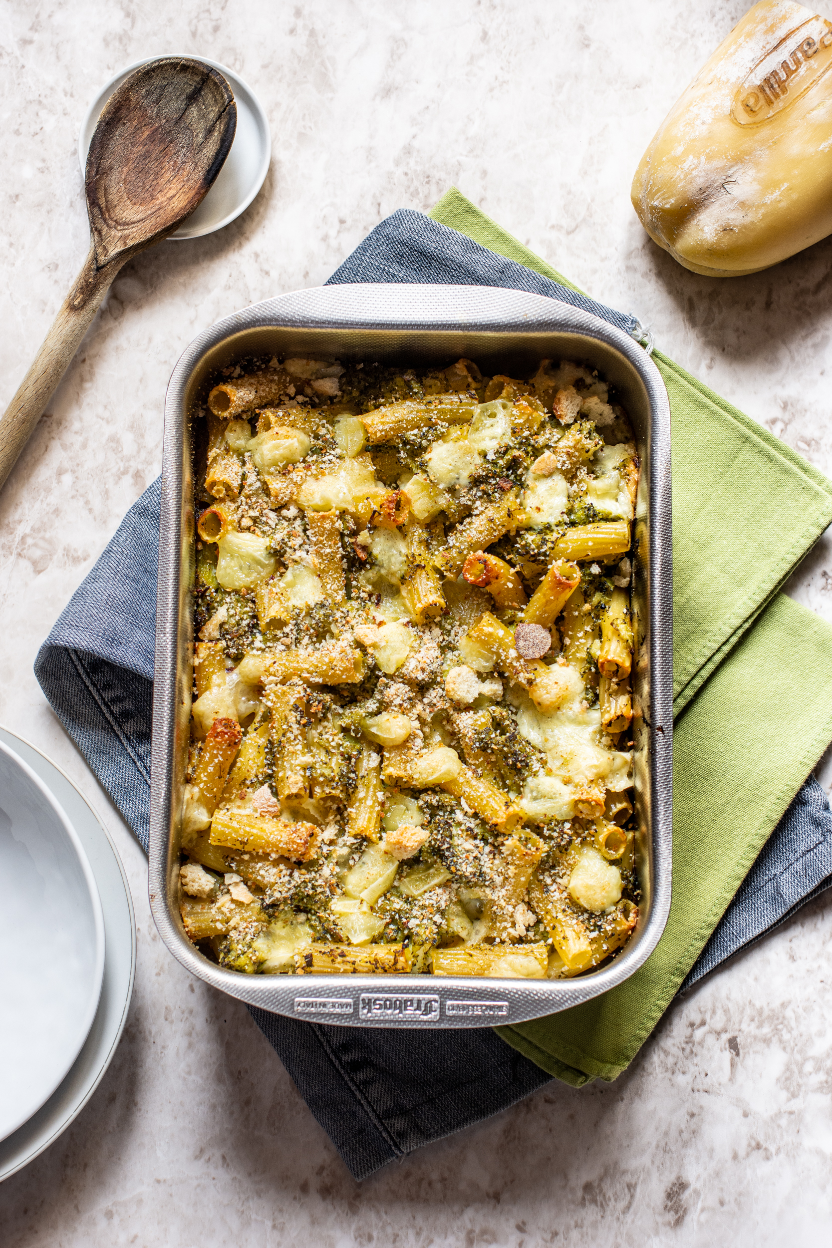 Pasta e broccoli al forno 1