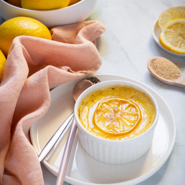 Creme Brulèe al limone